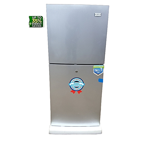 Double Door Refrigerator HRF-200 LUX With Handle 77305-2042 - Silver