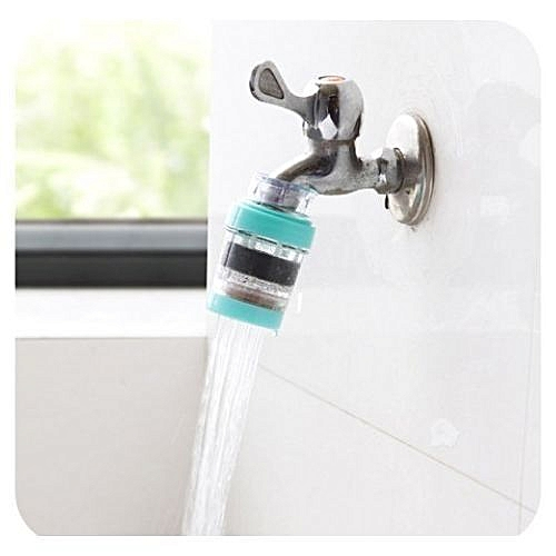 Magnetic Water Purifier Tap Filter Blue