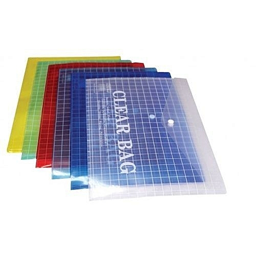 Clear File Bags For A4 Documents
