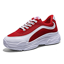 new product e2bd8 69cc0 Female Sneakers Trendy Design Walkabout Casual Shoes - Red