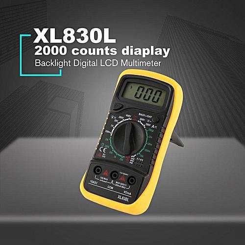 LCD Multimeter Voltmeter Ammeter AC DC Diode Resistence