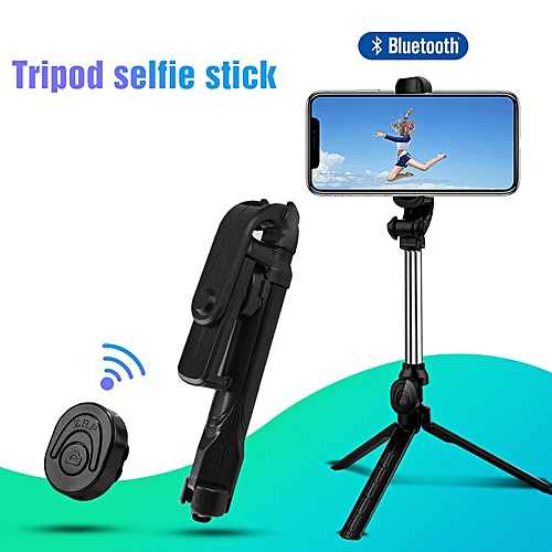 2018 New Bluetooth Remote Controller Hand-held Selfie Stick Tripod. Perfect For Pictures, Video Recording. Compatible With Android & IOS Phones + IRing Phone Holder.Feel & Capture Every Moment With This Amazing Selfie Stick.SEE VIDEO BELOW