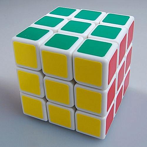 New , Shengshou V3 Aurora ( Jiguang ) 3x3x3 Speed Cube Puzzle 3x3  White