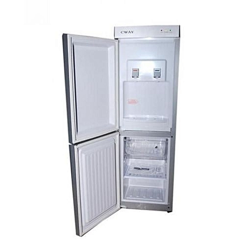 Double Door Water Dispenser With Freezer CWAY