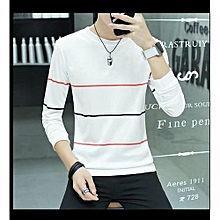 69354a15b36b7a Han Edition Tide Tight T-shirts Mens Long Sleeve Shirts Tops Tee Hot Sale-
