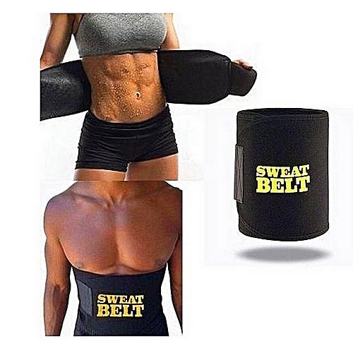 94d016e808f Generic Women Men Sweat Belt Hot Body Shapers Neoprene Slimming Belt Body  Shaper Tummy Control Slim Waist Trainer Fat Burning Shapewear