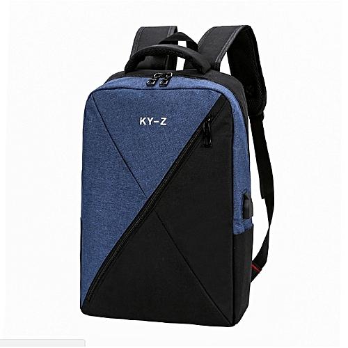 "Laptop Backpack,Anti Theft Bag With USB Charging Port For Men & Women, Smart Bag, Water Resistant Backpack School Bag, Large Capacity Business Backpack Fits UNDER 18"" Laptop & Notebook - Black"