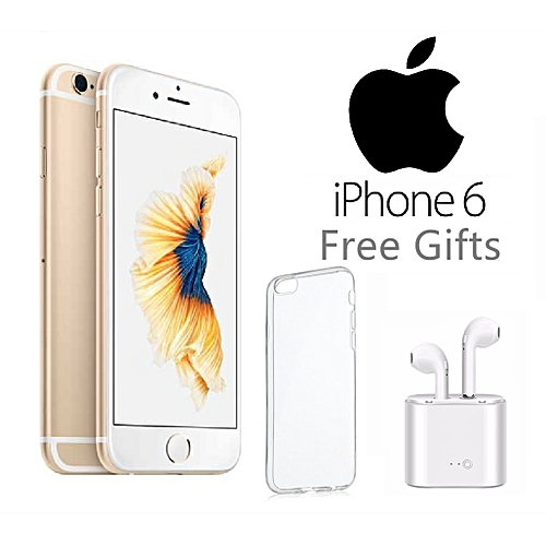 IPhone64.7-Inch Fingerprint HD(2GB,16GBROM)IOS 1.28MP+ 7MPRefurbished Smartphone–gold
