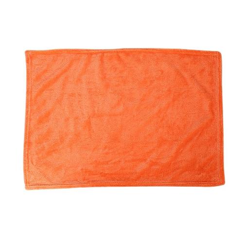 Solid Color Blanket Coral Fleece Comfortable Sleeping Home Bed Sofa Blanket Orange