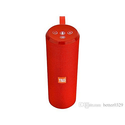 126 Portable Bluetooth Speaker - Red
