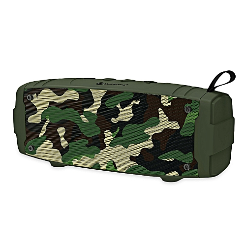 NewRixing NR - 3020 Outdoor Wireless Bluetooth Stereo Speaker Portable Player-WOODLAND CAMOUFLAGE