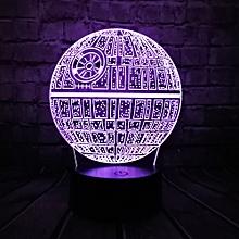 a9abe47df Hot Sale Movie Star Wars 3D USB LED Lamp Astro Cartoon Death Star Colorful  Ball Bulb