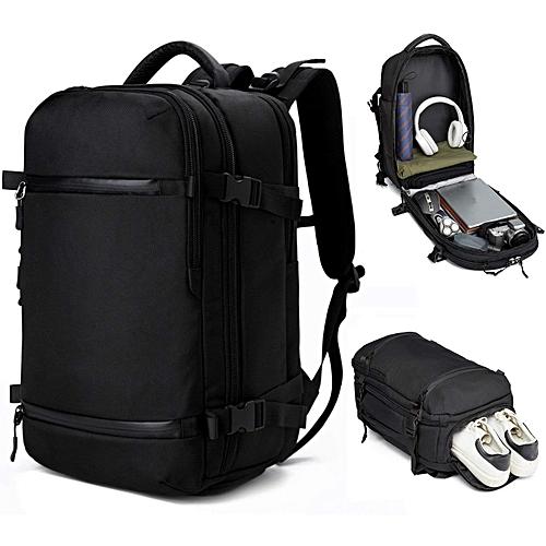 Men Travel Pack Bag Large Capacity Multifunctional Waterproof Laptop Backpack