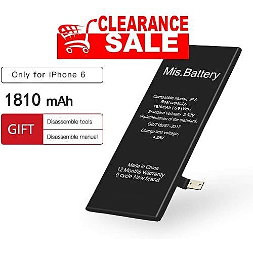 timeless design 539e4 1e257 Generic IPhone 6 Replaceable Battery 1810 Mah | Jumia.com.ng