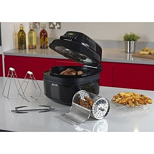 Versatile Airwave Digital Rotisserie Multi-Air Fryer - 1000W - Fry, Boil, Roast, Grill, Braise, Bake, Barbecue And Slow Cook