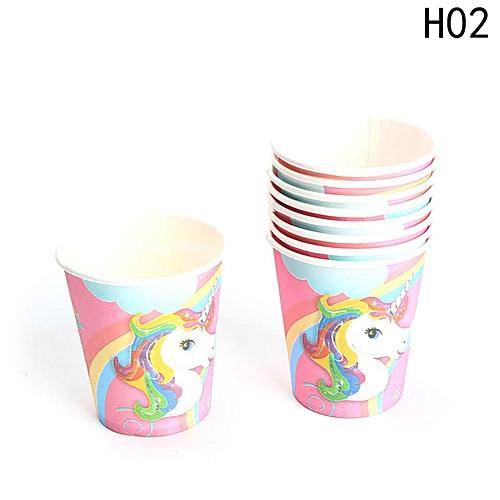 Kids Unicorn Theme Party Decoration Supplies H02