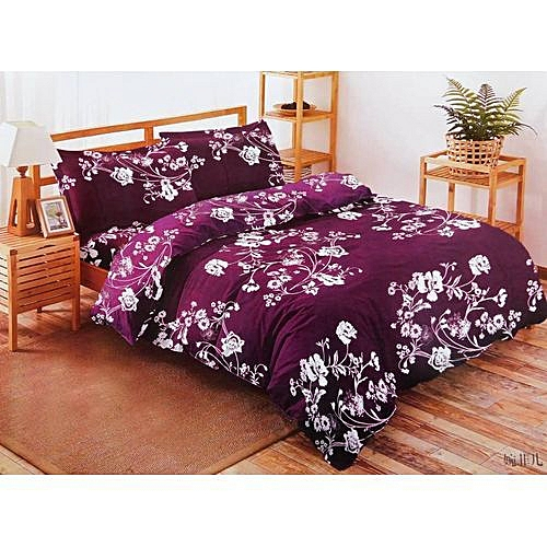 BEDSHEET DUVET AND FOUR PILLOW CASES FOR HOMES