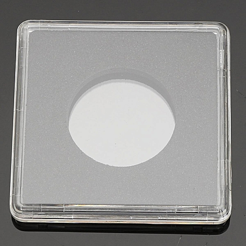 A Box Of 10 Lighthouse Square Coin Capsules Quadrum Sizes 14mm To 41mm [24.5mm (10PCS)]