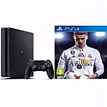 Sony PlayStation 4 500GB Slim Console + FIFA 18