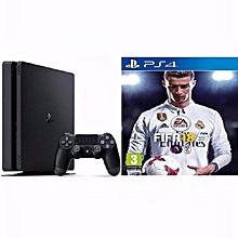 Sony PlayStation 4 500GB Slim Console + FIFA 18