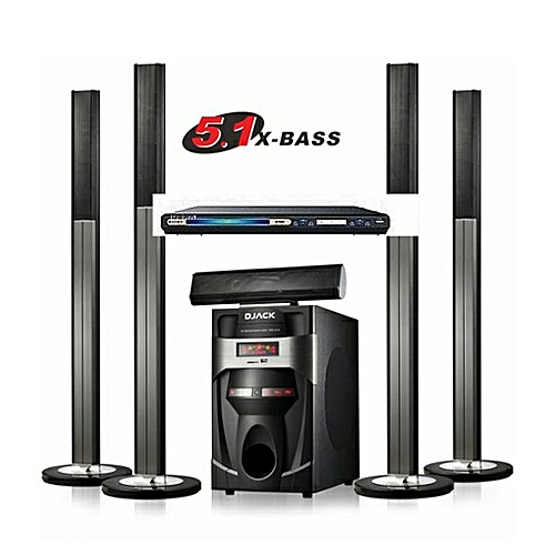 5.1 Djack Bluetooth Home Theatre + DVD Player