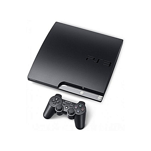 PS3 Slim Console 120GB + 10 Latest Games Includes FIFA 18 & PES 2018 Downloaded Inside