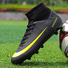 50a527cc1176 High-tops Soccer Shoes Football Boots Suit Fashion Men And Kids Hot Sale  Sports Shoes