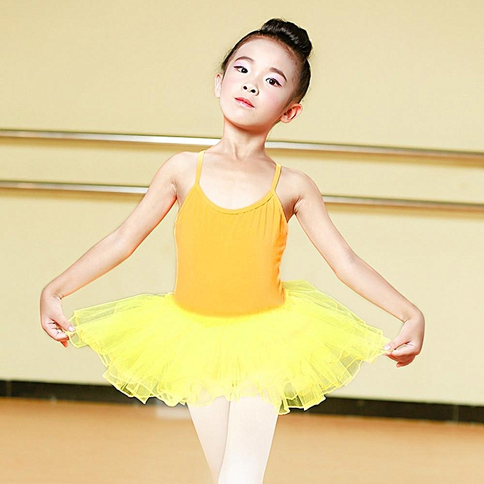 f50e0278d6 Toddler Baby Girl Ballet Princess Dress Tutu Leotard Dance Gymnastics Strap  Clothes Outfits Musiccool