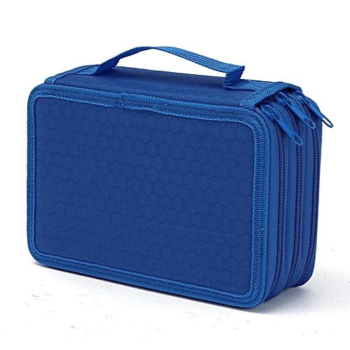 High Capacity Pen Pencil Case Box Stationary Pen Pouch Bag Makeup Storage Bag