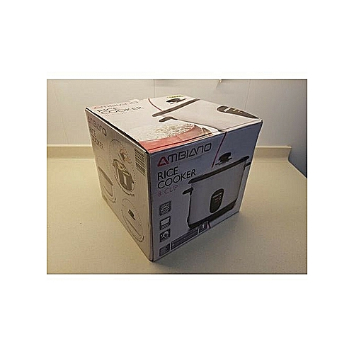Ambiano 8 Cup Rice Cooker (with Steamer Tray) 500W