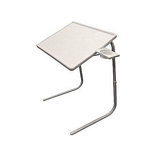 Foldable And Adjustable Table Mate IV With Cup Holder Stand