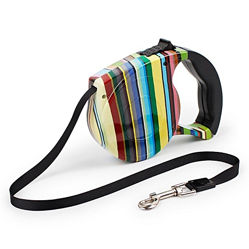 5M Dog Leash Automatic Retractable Extending Pet Leashes Collars Walking Leads Products Accessories