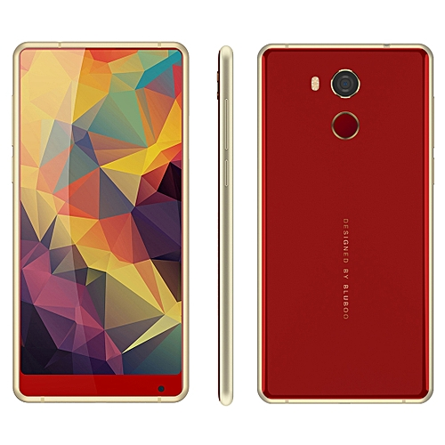 Bluboo d5 Pro 3gb 32gb Fingerprint Identification 5.5 Inch Android 7.0 mtk6737 Quad Core Up To 1.3ghz Network 4g Dual sim Red