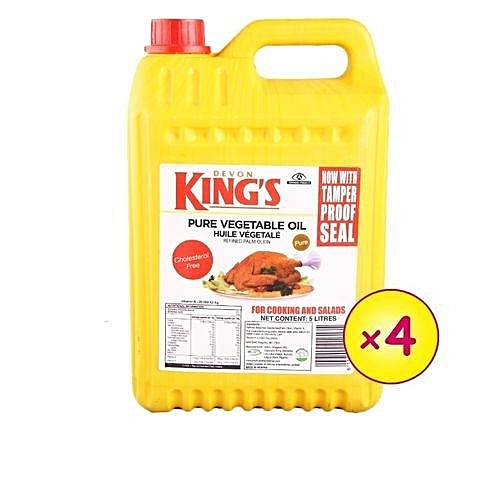 Vegetable Oil - 5Litre Carton