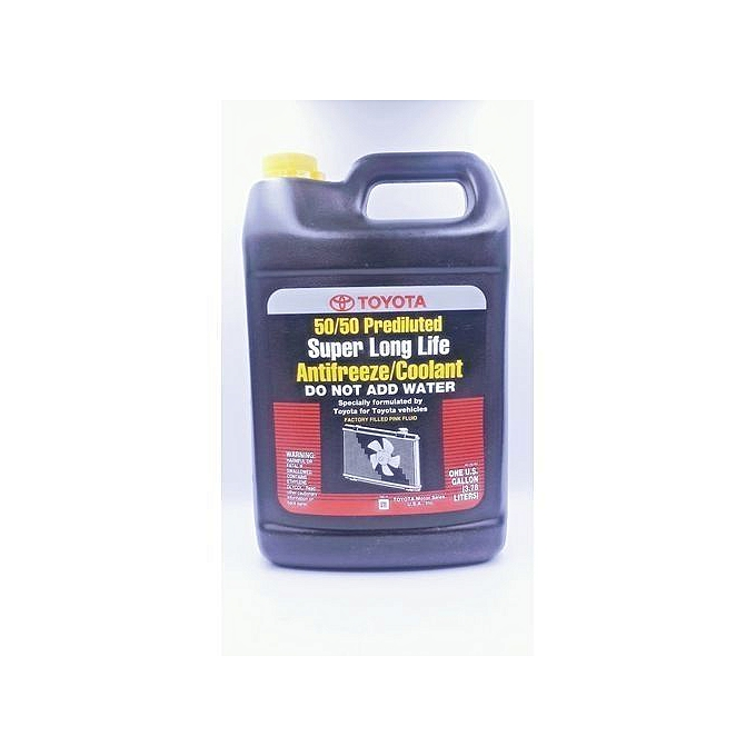 Toyota Super Long Life Coolant >> 50 50 Prediluted Super Long Life Antifreeze Coolant For Automobiles Cars