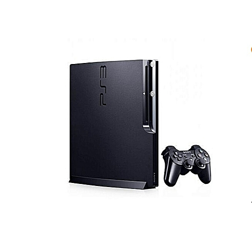 PS3 Console 320GB Slim + 21 Games Downloaded Including FIFA 2019 + 2018 With PES 2018 Inclusive