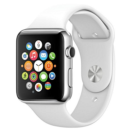 385a1d92509fa Generic Hot Sale SIM TF Bluetooth Sport Pedometer Wrist Watch A1G08 Smart Watch  For Android Smartphone And Apple 5 5S 6 6 Plus (white)