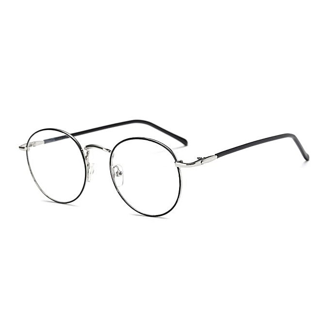 fb8f7786540 ... Optical Spectacle Men Women · Emosnia Cheap Clear Round Nerd Glasses  Myopia Small Lens Unisex Gold Round Metal Frame Glasses Frame
