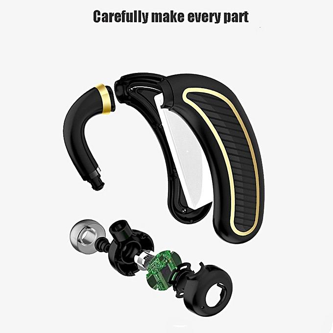 b53943bf08a ... Bluetooth Headset,Wireless Bluetooth 4.1 Business Headphone Earphone  300mAh Super Long Standby Earpiece With Mic