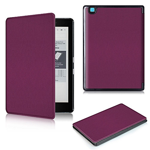 Magnetic Auto Sleep Leather Cover Case For KOBO Arua Edition 2 EReader 6inch PP