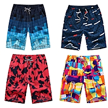 7582cef1a4bf 4-in-1 Men  039 s Casual Quick Drying Shorts Printed Beach