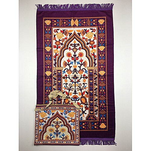 Muslim Prayer Mat With Bag For Travel Bag Prayer Mat ,Islam Prayer Rug With Bag Sets HGP-006 3D Print