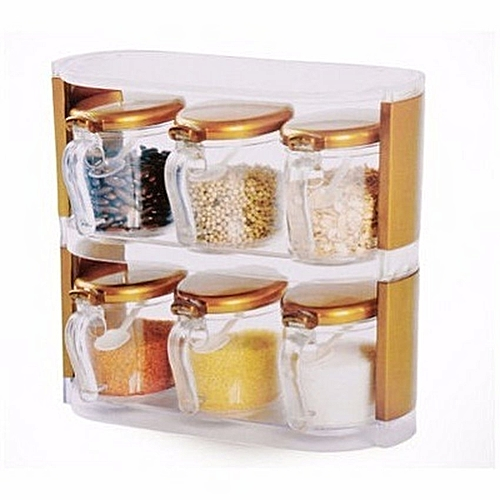 Seasoning Box With 6 Containers