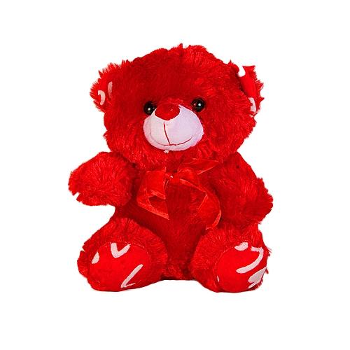 Valentine Teddy Bear - Red/White