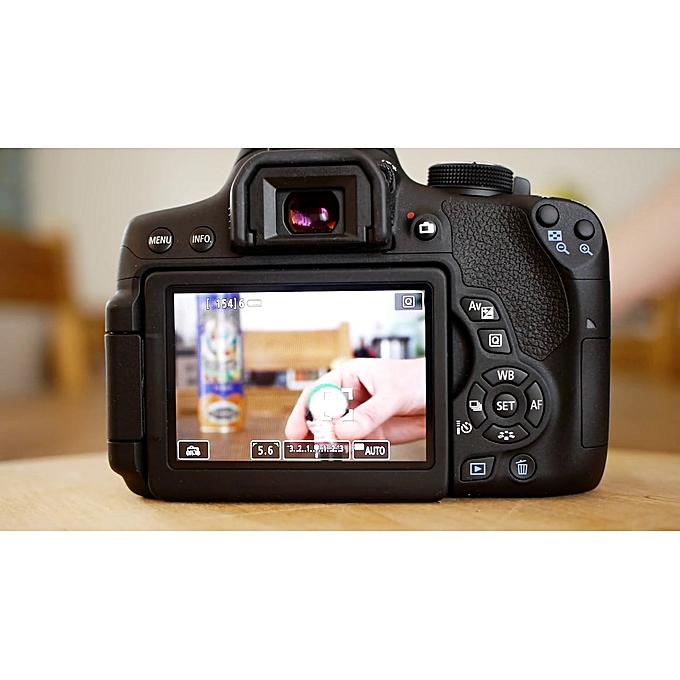 Canon Camera 750D + 18-135mm Lens