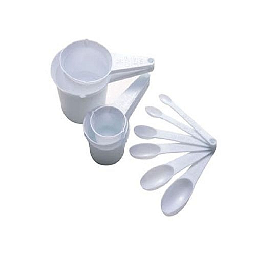 11 Pieces Kitchen Baking Measuring Cups & Spoons