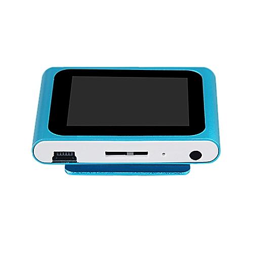 Correponde LCD Screen 6th Clip Mp4 Player FM Radio Video Games Movie Support Micro SD TF