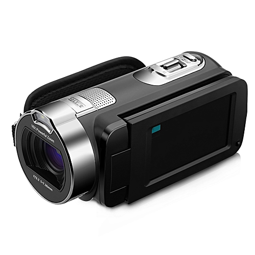 HD Video Camera Night Light Black EU PLUG - Black