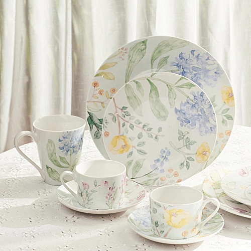 Mijia Garden Series Afternoon Tea Ceramic Plate Set Kitchen Tableware