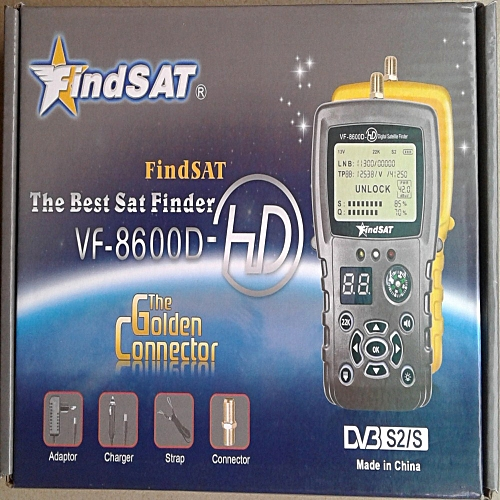 FindSat DVBS2 Signal Satellite Finder
